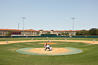 SAN ANTONIO, TX - MAY 11, 2008: The Nicholls State University Colonels vs. The University of Texas at San Antonio Roadrunners Baseball at Roadrunner Field. (Photo by Jeff Huehn)