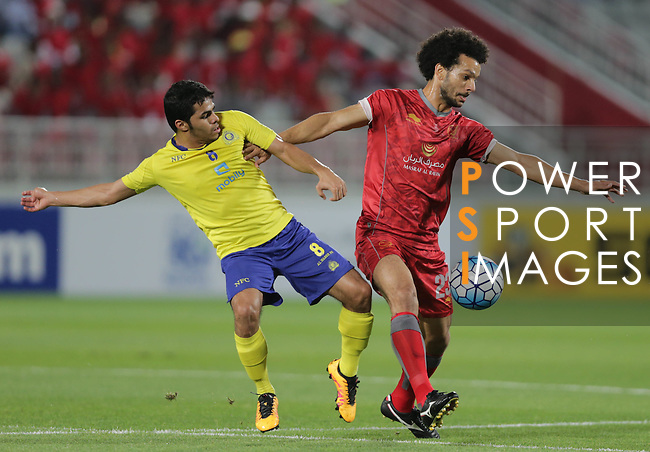LEKHWIYA (QAT) vs AL NASSR (KSA) during the 2016 AFC Champions League Group B Match Day 4 on 05 April 2016 at the Abdullah Bin Khalifa Stadium in Doha, Qatar. Photo by Stringer / Lagardere Sports