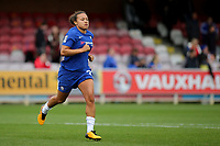 A quick training session for Chelsea's Drew Spence after the final whistle during Chelsea Ladies vs Liverpool Ladies, FA Women's Super League FA WSL1 Football at Kingsmeadow on 7th October 2017