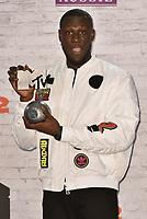Stormzy (Michael Ebenazer Kwadjo Omari Owuo, Jr.)<br /> MTV EMA Awards 2017 in Wembley, London, England on November 12, 2017<br /> CAP/PL<br /> &copy;Phil Loftus/Capital Pictures