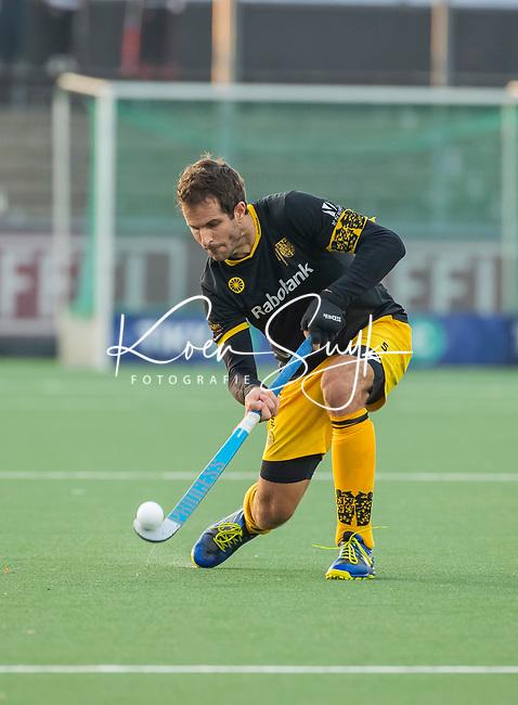 AMSTELVEEN -  Austin Smith (Den Bosch)   tijdens de competitie hoofdklasse hockeywedstrijd mannen, Amsterdam- Den Bosch (2-3).  COPYRIGHT KOEN SUYK