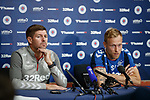 17.07.2019: Rangers press conference: Steven Gerrard and Scott Arfield1