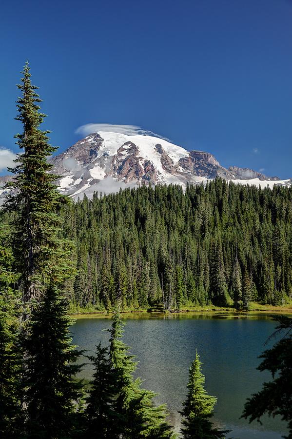 Reflection Lake, Mount Rainier National Park, Washington, USA