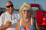 Suzanna Miller and Doug Friberg from Lincoln, CA at Hot August Nights at the Grand Sierra Resort on Tuesday, August 2, 2016.