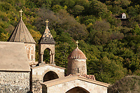 Nagorno-Karabakh, also known as Artsakh, is a landlocked region in the South Caucasus. Dadivank (also Khutavank) is an Armenian monastery in the Shahumian Region of the Nagorno-Karabakh Republic. It was built between the 9th and 13th century. Nagorno-Karabakh is a disputed territory, internationally recognized as part of Azerbaijan, but most of the region is governed by the Republic of Artsakh (formerly named Nagorno-Karabakh Republic), a de facto independent state with Armenian ethnic population. Since 1994, regular peace talks between Armenia and Azerbaijan mediated by the OSCE Minsk Group have failed to result in a peace treaty. 8.10.2019 © 2019 Didier Ruef