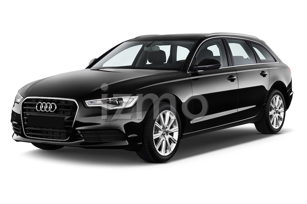 Front three quarter view of a 2014 Audi A6 AVUS 5 Door Wagon 2WD