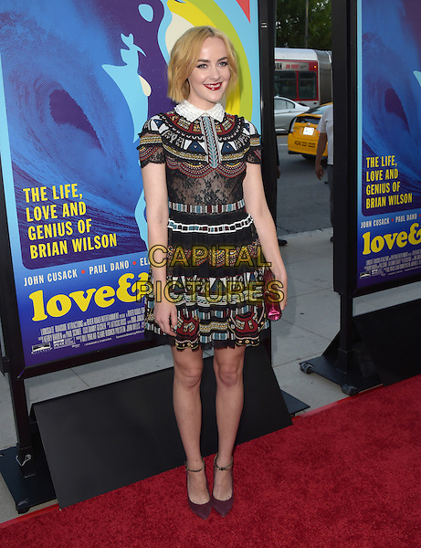 Jena Malone attends The Lionsgate L.A. Premiere of Love &amp; Mercy held at AMPAS  in Beverly Hills, California on June 02,2015                                                                               <br /> CAP/RKE/DVS<br /> &copy;DVS/RockinExposures/Capital Pictures