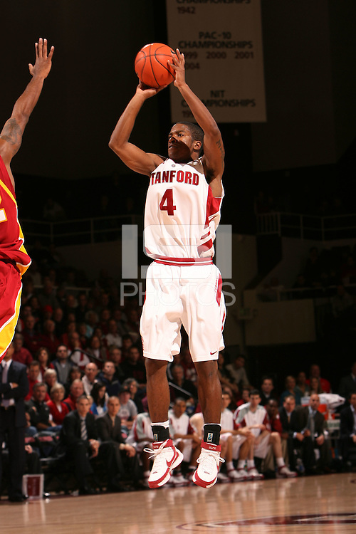 5 January 2008: Anthony Goods during Stanford's 52-46 win over USC at Maples Pavilion in Stanford, CA.