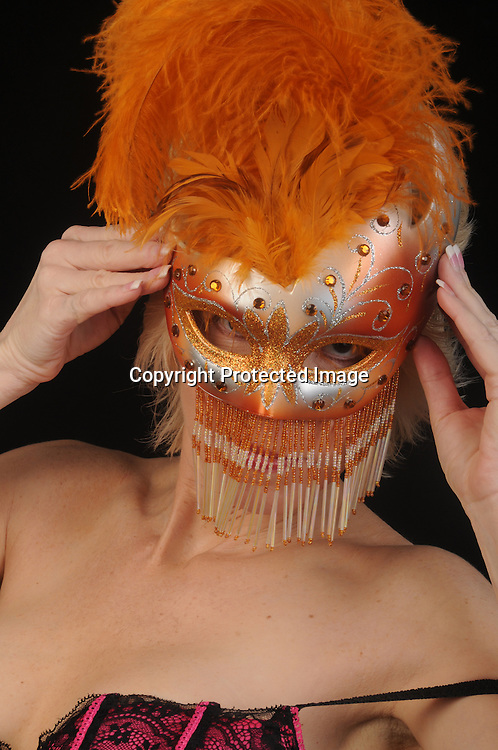 Stock Photos of Woman and Mask