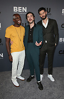 BEVERLY HILLS, CA - AUGUST 4: Keston John, Morgan Krantz, Casey Diedrick, at The CW's Summer TCA All-Star Party at The Beverly Hilton Hotel in Beverly Hills, California on August 4, 2019. <br /> CAP/MPI/FS<br /> ©FS/MPI/Capital Pictures