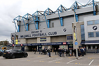 General view of the outside of Millwall FC taken from the car park during Millwall vs Leeds United, Sky Bet EFL Championship Football at The Den on 5th October 2019