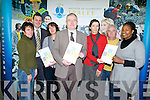 A new Mature Students' Study Skills Guide was launched yesterday (Wednesday) in the IT Tralee. .From l-r were: Pat Dowling, Tim Daly (Student Services Manager), Dr. Oliver Murphy (President ITT), Jane Brennan (Learning Support Tutor),  and Joan Reil Burke.