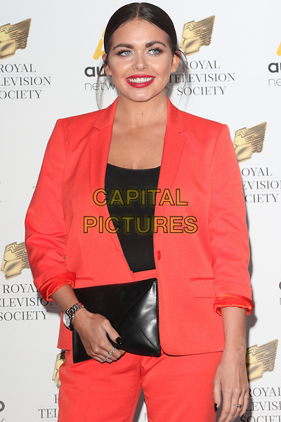 Scarlett Moffatt at the RTS Programme Awards 2017 at Grosvenor House, Park Lane, London on the 21st March 2017<br /> CAP/ROS<br /> &copy;Steve Ross/Capital Pictures