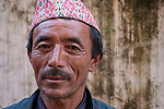 NEPAL - NOVEMBER 6:  A portrait of a local Nepalise on November 6, 2018  in Nepal. (Photo by Donald Miralle)