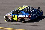 Feb 08, 2009; 1:38:37 PM; Daytona Beach, FL, USA; NASCAR Sprint Cup Series qualifying for the Daytona 500 at Daytona International Speedway.  Mandatory Credit: (thesportswire.net)