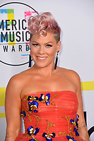 Pink at the 2017 American Music Awards at the Microsoft Theatre LA Live, Los Angeles, USA 19 Nov. 2017<br /> Picture: Paul Smith/Featureflash/SilverHub 0208 004 5359 sales@silverhubmedia.com