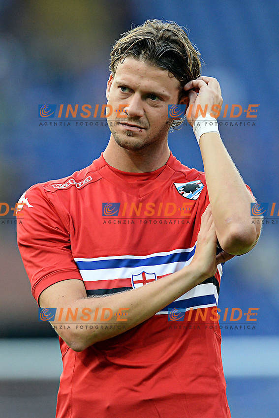 Andrea Costa <br /> Genova 02-08-2014 Stadio Marassi <br /> Calcio 2014/2015 Sampdoria - Eintracht Francoforte <br /> Foto Matteo Gribaudi / Image/ Insidefoto