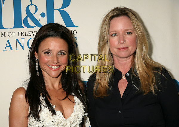 "JULIA LOUIS-DREYFUS & KARI LIZER.""New Adventures of Old Christine"" Presented by the Museum of Television & Radio, Beverly Hills, California, USA, 16 April 2007..portrait headshot .CAP/ADM/BP.©Byron Purvis/AdMedia/Capital Pictures."