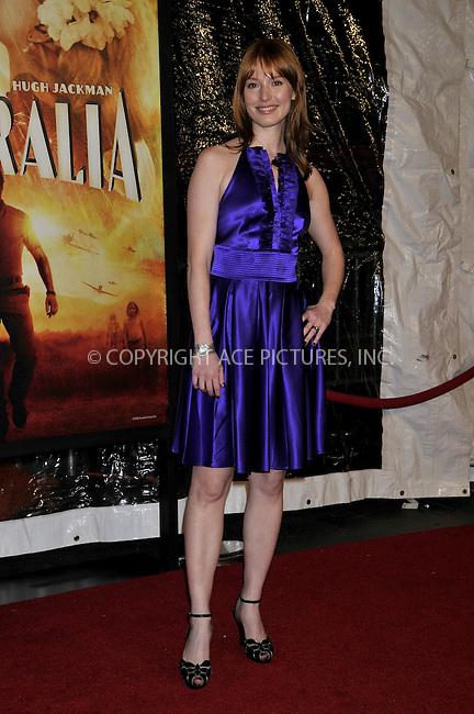 WWW.ACEPIXS.COM . . . . .....November 24, 2008. New York City.....Alicia Witt attends the 'Australia' Premiere held at the Ziegfeld Theater on November 24, 2008 in New York City...  ....Please byline:  AJ Sokalner - ACEPIXS.COM..... *** ***..Ace Pictures, Inc:  ..Philip Vaughan (646) 769 0430..e-mail: info@acepixs.com..web: http://www.acepixs.com