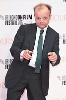 "Toby Jones<br /> arriving for the London Film Festival 2017 screening of ""Journey's End"" at the Odeon Leicester Square, London<br /> <br /> <br /> ©Ash Knotek  D3320  06/10/2017"
