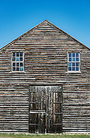 Barn, Historic Batsto Village, Wharton State Park, Pine Barrens, New Jersey, USA