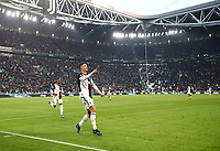 Calcio, Serie A: Juventus - Cagliari, Turin, Allianz Stadium, January 6, 2020.<br /> Juventus' Cristiano Ronaldo celebrates after scoring his third goal in the match during the Italian Serie A football match between Juventus and Cagliari at Torino's Allianz stadium, on January 6, 2020.<br /> UPDATE IMAGES PRESS/Isabella Bonotto