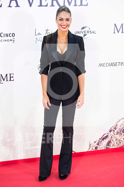 "Lara Alvarez during the premiere of the spanish film ""Un Monstruo Viene a Verme"" of J.A. Bayona at Teatro Real in Madrid. September 26, 2016. (ALTERPHOTOS/Borja B.Hojas)"
