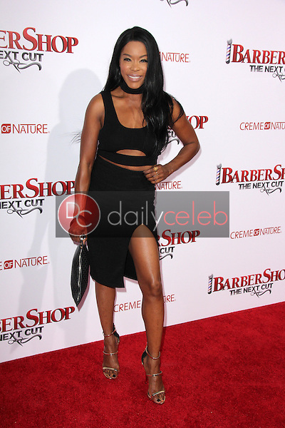 Golden Brooks<br /> at the &quot;Barbershop The Next Cut&quot; Premiere, TCL Chinese Theater, Hollywood, CA 04-06-16<br /> David Edwards/Dailyceleb.com 818-249-4998