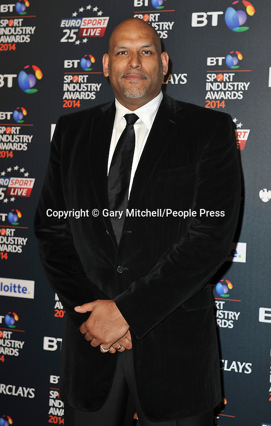 attends the BT Sport Industry Awards at Battersea Evolution on May 8, 2014 in London, England