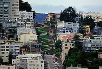 LOMBARD STREET - SAN FRANCISCO, CALIFORNIA