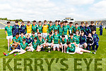 The St Brendans College team that defeated Mercy Mounthawk in  Russell cup  final at Fitzgerald Stadium on Friday