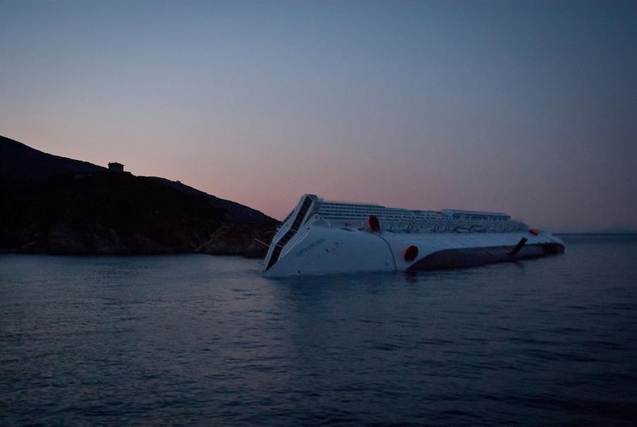 """""""Costa Concordia"""" - Isola del Giglio, Italy."""