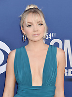 LAS VEGAS, CA - APRIL 07: Danielle Bradbery attends the 54th Academy Of Country Music Awards at MGM Grand Hotel &amp; Casino on April 07, 2019 in Las Vegas, Nevada.<br /> CAP/ROT/TM<br /> &copy;TM/ROT/Capital Pictures