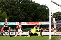 SCHOONEBEEK - Voetbal, SVV 04 - FC Emmen, voorbereiding seizoen 2018-2019, 06-07-2018,  FC Emmen speler Luciano Slagveer