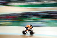 Picture by Alex Whitehead/SWpix.com - 22/03/2018 - Cycling - 2018 UCI Para-Cycling Track World Championships - Rio de Janeiro Municipal Velodrome, Barra da Tijuca, Brazil - Alyda Norbruis of the Netherlands competes in the Women's C2 Individual Pursuit qualifying.