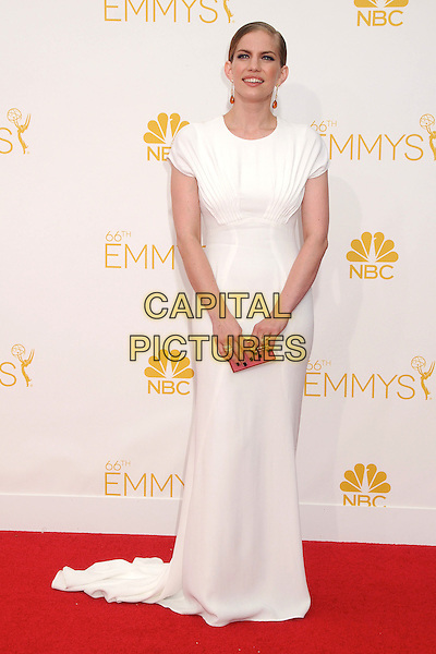 25 August 2014 - Los Angeles, California - Anna Chlumsky. 66th Annual Primetime Emmy Awards - Arrivals held at Nokia Theatre LA Live. <br /> CAP/ADM/BP<br /> &copy;BP/ADM/Capital Pictures