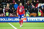S&ouml;dert&auml;lje 2014-11-09 Fotboll Kval till Superettan Assyriska FF - &Ouml;rgryte IS :  <br /> &Ouml;rgrytes George Mourad deppar framf&ouml;r &Ouml;rgrytes supportrar efter matchen mellan Assyriska FF och &Ouml;rgryte IS <br /> (Foto: Kenta J&ouml;nsson) Nyckelord:  S&ouml;dert&auml;lje Fotbollsarena Kval Superettan Assyriska AFF &Ouml;rgryte &Ouml;IS depp besviken besvikelse sorg ledsen deppig nedst&auml;md uppgiven sad disappointment disappointed dejected