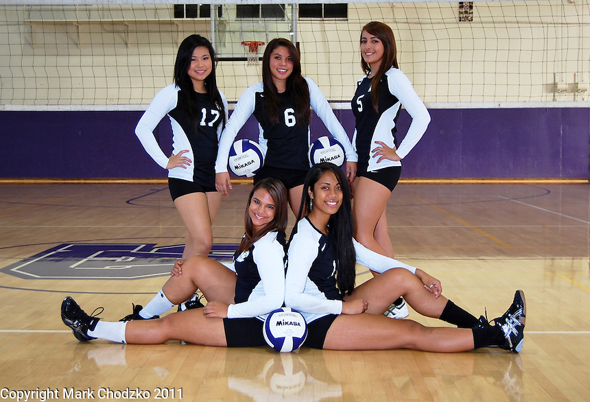 St. Anthony High School Volleyball team individual photo.