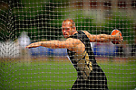 04.06.2011, Eugene, USA, Prefontaine Classic Track Meet, im Bild Robert Harting (GER) wins the men's discus with a throw of  68.40 meters at the Prefontaine Classic Track and Field meet at Hayward Field in Eugene, Oregon. June 4, 2011..
