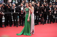 Andie Macdowell and daughter Sarah Margaret Qualley - 65th Cannes Film Festival closing ceremony.May 27th, 2012.