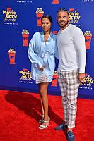 SANTA MONICA, USA. June 16, 2019: Cheyenne Floyd & Cory Wharton at the 2019 MTV Movie & TV Awards at Barker Hangar, Santa Monica.<br /> Picture: Paul Smith/Featureflash