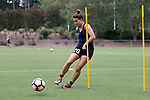 CARY, NC - JULY 27: Samantha Witteman. The North Carolina Courage held a training session on July 27, 2017, at WakeMed Soccer Park Field 7 in Cary, NC.