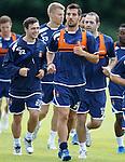 Manuel Pascali back in training after his leg break last season