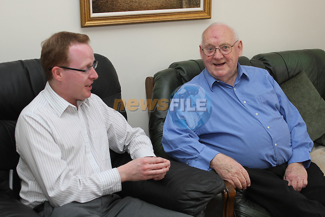 Ian Watters speaks to Brendan Kerr for the Spotlight Interview 29/07/10..Photo NEWSFILE/Jenny Matthews.(Photo credit should read Jenny Matthews/NEWSFILE)....This Picture has been sent you under the condtions enclosed by:.Newsfile Ltd..The Studio,.Millmount Abbey,.Drogheda,.Co Meath..Ireland..Tel: +353(0)41-9871240.Fax: +353(0)41-9871260.GSM: +353(0)86-2500958.email: pictures@newsfile.ie.www.newsfile.ie.FTP: 193.120.102.198.