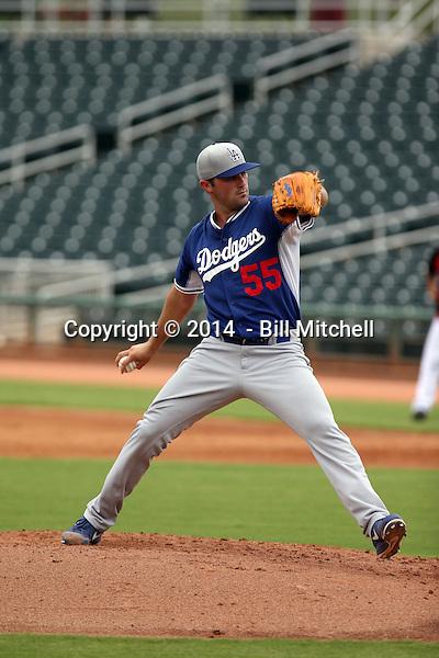 Matt Magill - 2014 AIL AIL Dodgers (Bill Mitchell)