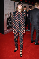 Stacy Martin at the premiere of &quot;The Sense of an Ending&quot; at the Picturehouse Central, London, UK. <br /> 06 April  2017<br /> Picture: Steve Vas/Featureflash/SilverHub 0208 004 5359 sales@silverhubmedia.com