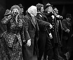 Chita Rivera, Jim Norton, Will Chase, Gregg Edelman, Andy Karl, Robert Creighton & Company during the Broadway Opening Night Performance Curtain Call for 'The Mystery of Edwin Drood' at Studio 54 in New York City on 11/13/2012