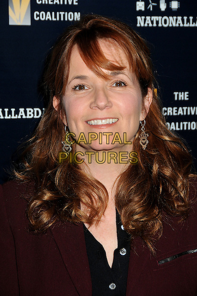 "LEA THOMPSON.The Creative Coalition Kicks Off National Lab Day with ""Hollywood Experiments With Science"" held at the Luxe Hotel, Los Angeles, California, USA..April 1st, 2010.headshot portrait black red maroon burgundy  .CAP/ADM/BP.©Byron Purvis/AdMedia/Capital Pictures."