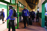 Matt Banahan and the rest of the Bath Rugby team arrive at the ground. European Rugby Champions Cup match, between Benetton Rugby and Bath Rugby on January 20, 2018 at the Municipal Stadium of Monigo in Treviso, Italy. Photo by: Patrick Khachfe / Onside Images