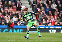Swansea City's Jack Cork during the Barclays Premier League match between Stoke City and Swansea City played at Britannia Stadium, Stoke on April 2nd 2016